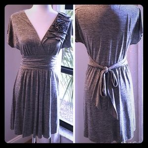 Vintage inspired wrap dress